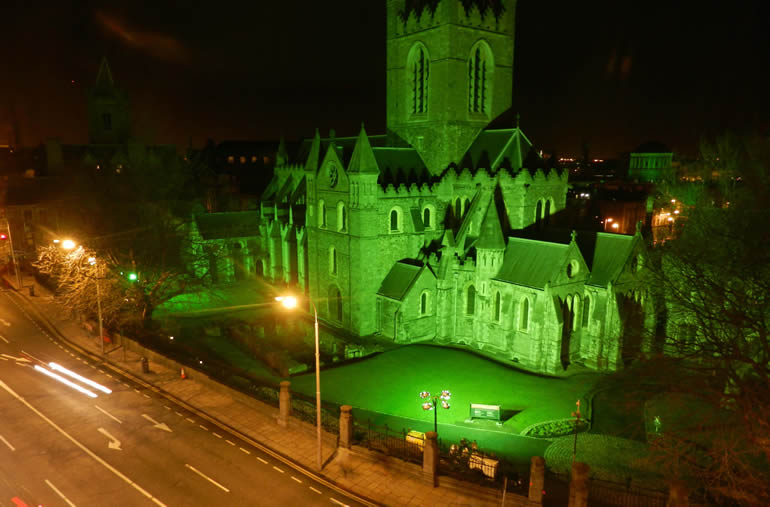 Dublin events in 2012 - Christchurch St. Patrick's Day