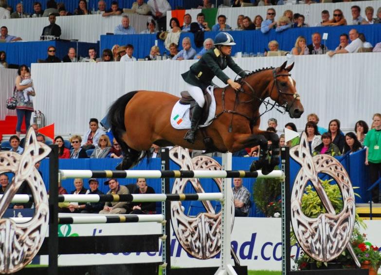 Dublin Horse Show 2012 - Nicola Fitzgibbon