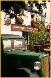 vintage car at Johnny Foxes Dublin