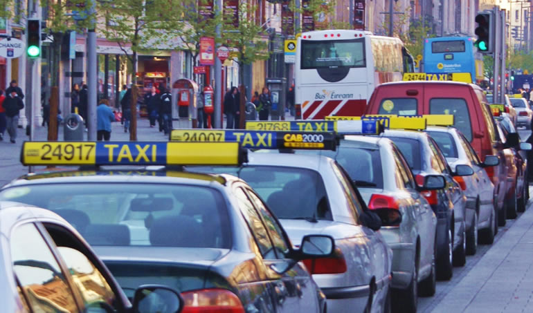 Transport in Dublin - taxi