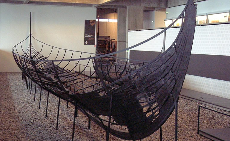 Dublin History - Viking Ship Built in Dublin