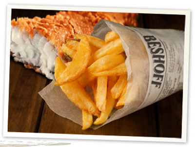Top Takeaways in Dublin - beshoffs fish and chips
