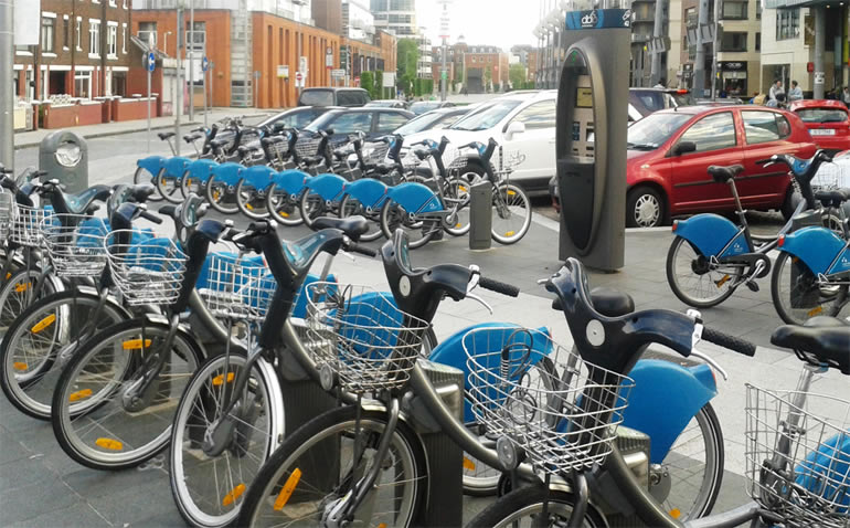 Transport in Dublin - Bikes