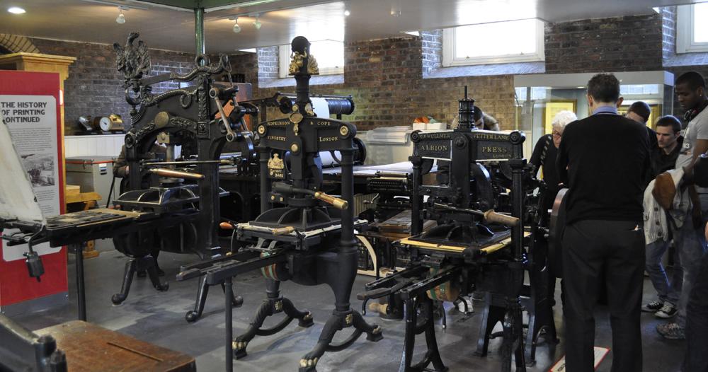 Counter Press National Print Museum