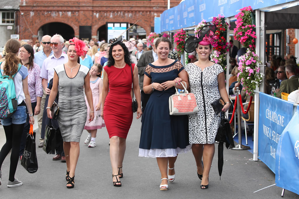 Ladies day at Dublin Horse Show
