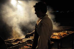 Andre Lima de Luca of Sao Paulo's BOS BBQ