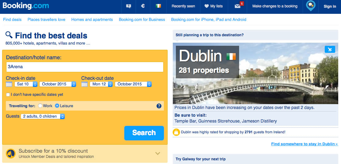 Booking.com Dublin