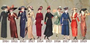 fashions 1916