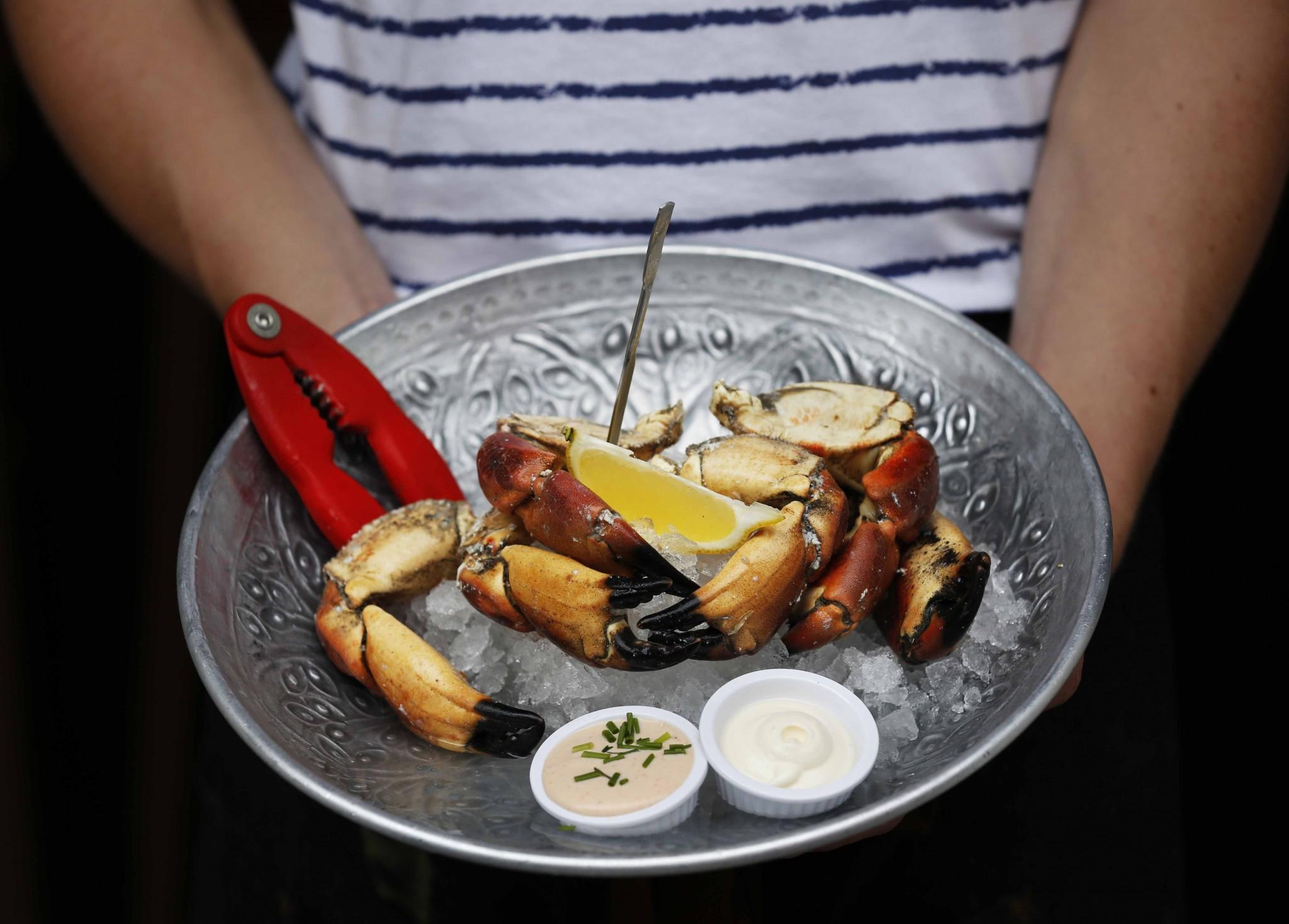 A fish dish at Klaw