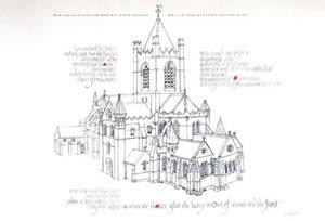 christ church dublin calligraphy