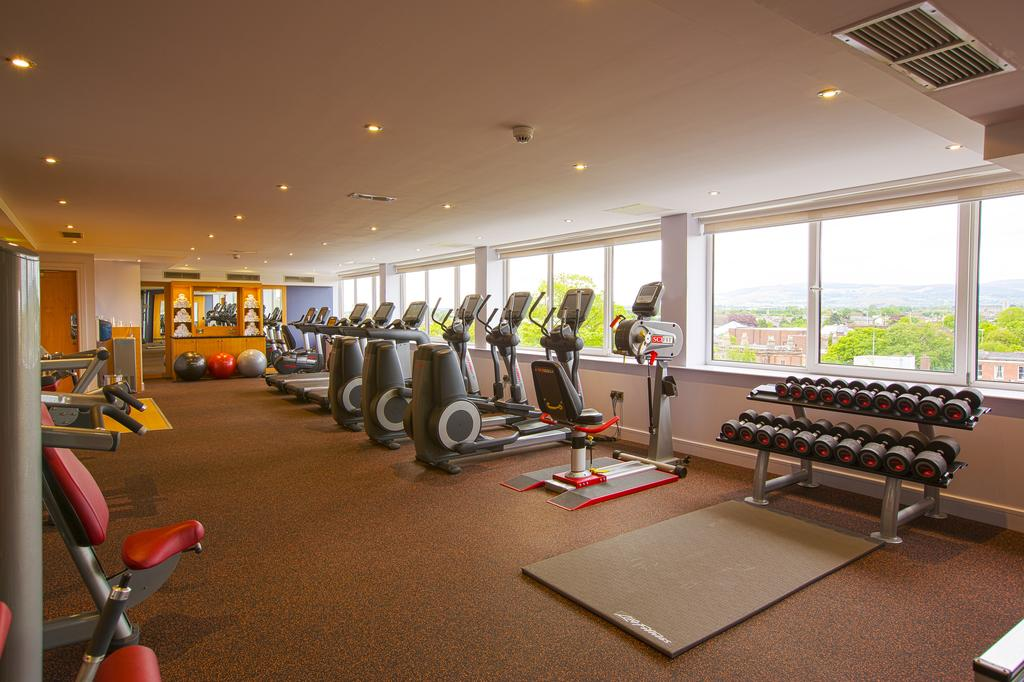 burlington hotel dublin gym