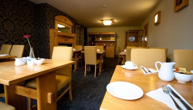 Dublin Airport Manor Breakfast Room