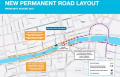 Dublin City Traffic Changes August 2017