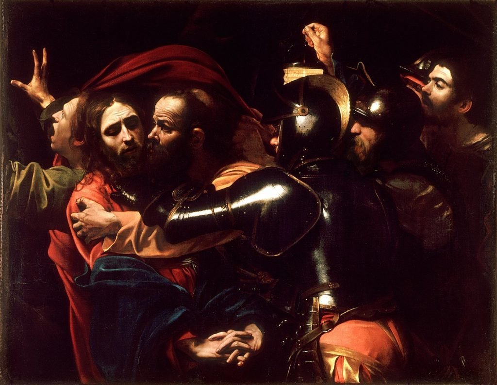 The Taking of Christ by Caravaggio