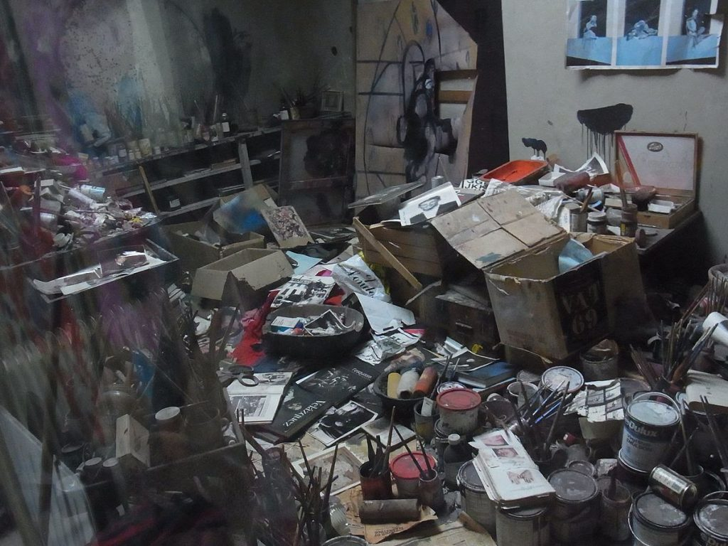 Reconstruction of Francis Bacon Studio