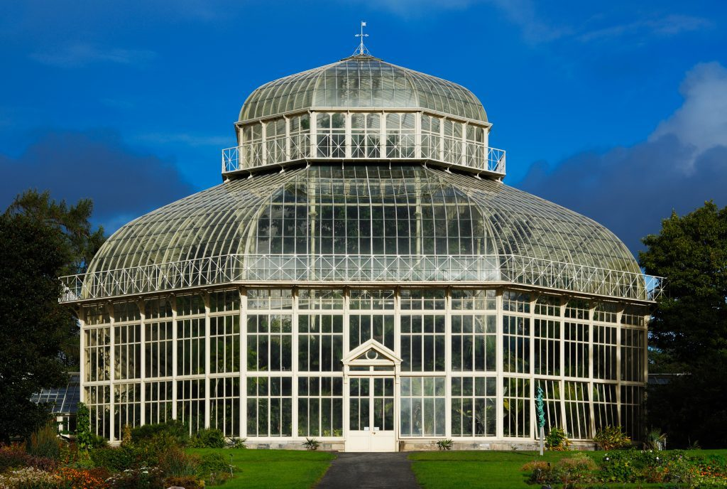 Glasshouse at Dublin Botanic Gardens