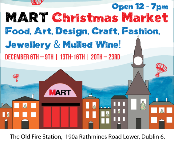 mart christmas market dublin
