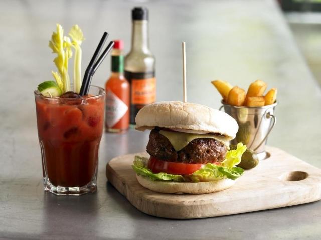Gibson Hotel Dublin burger