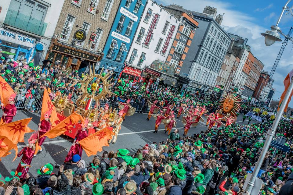 st. patrick's day parade in dublin ireland 2019 11
