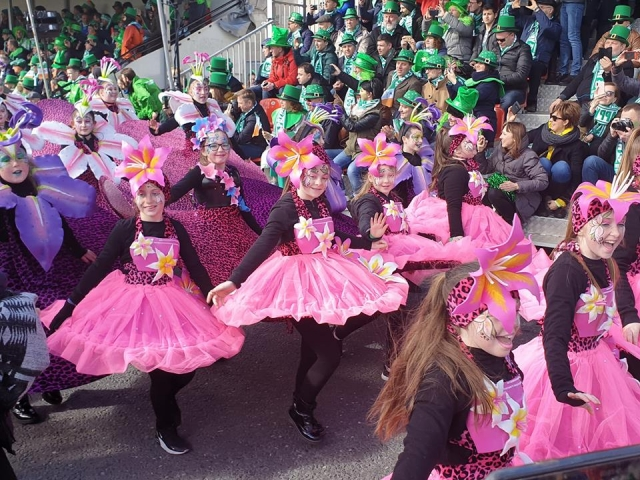 st. patrick's day parade in dublin ireland 2019 14
