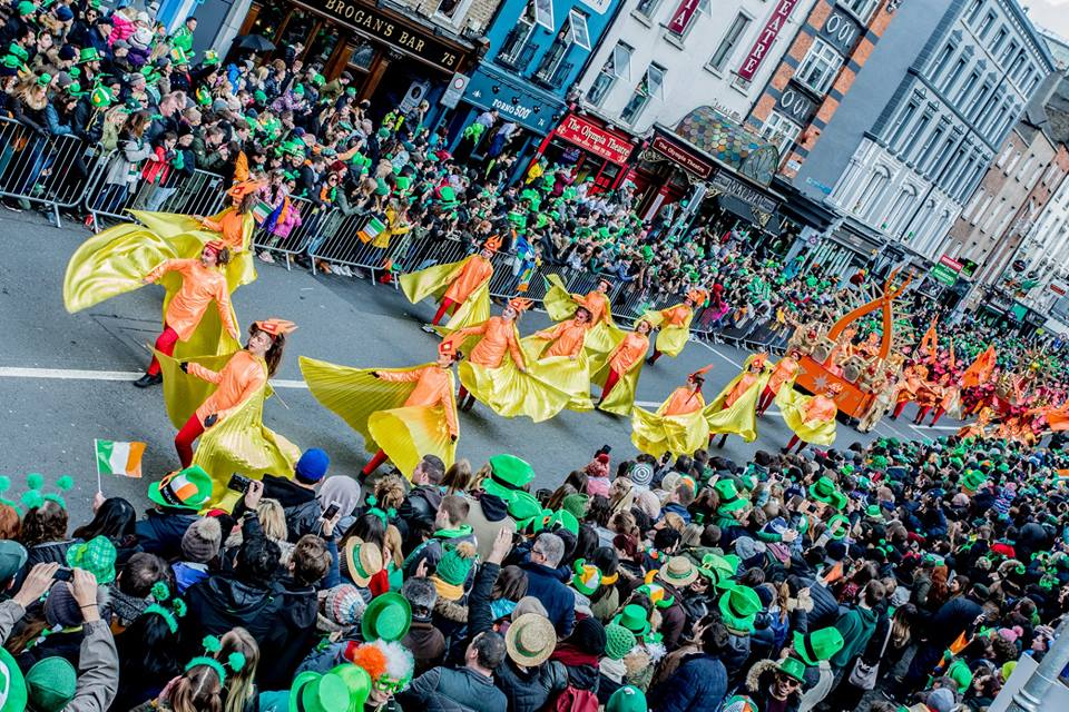 st. patrick's day parade in dublin ireland 2019 15