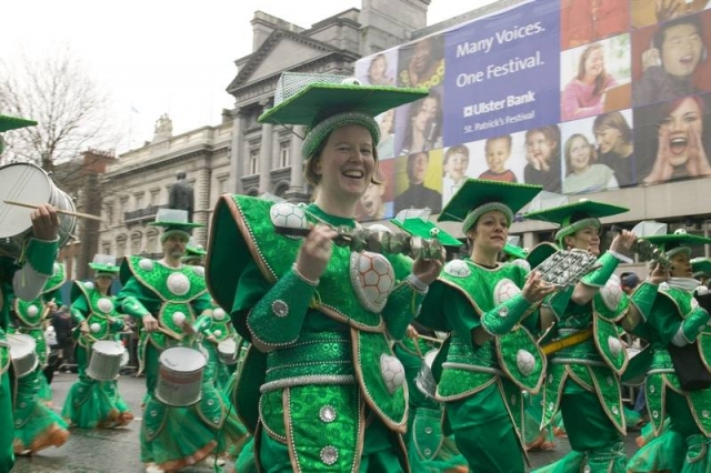 st. patrick's day parade in dublin ireland 2019 2