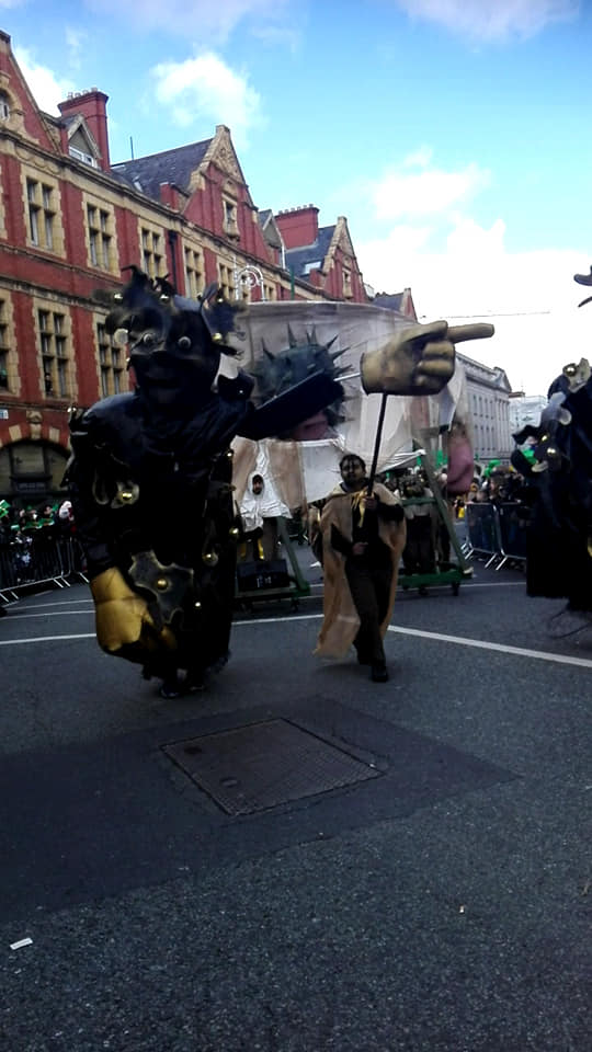 st. patrick's day parade in dublin ireland 20194